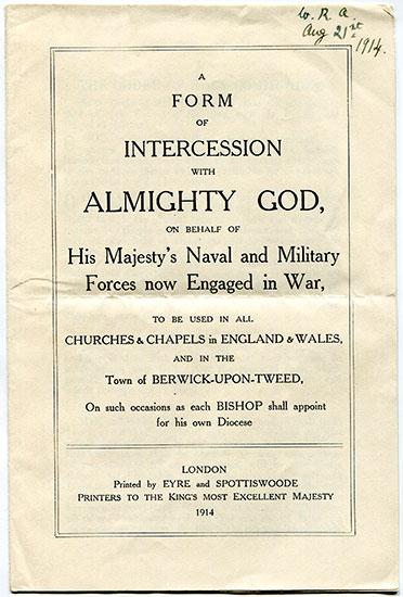 Order of war service
