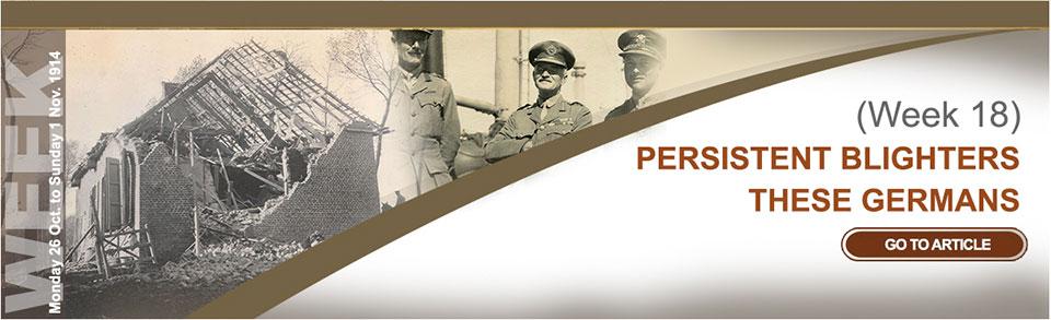 Monday 26 October to Sunday 1 November 1914