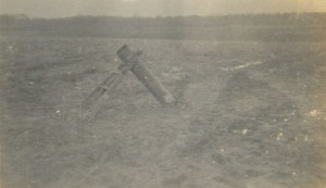A trench mortar