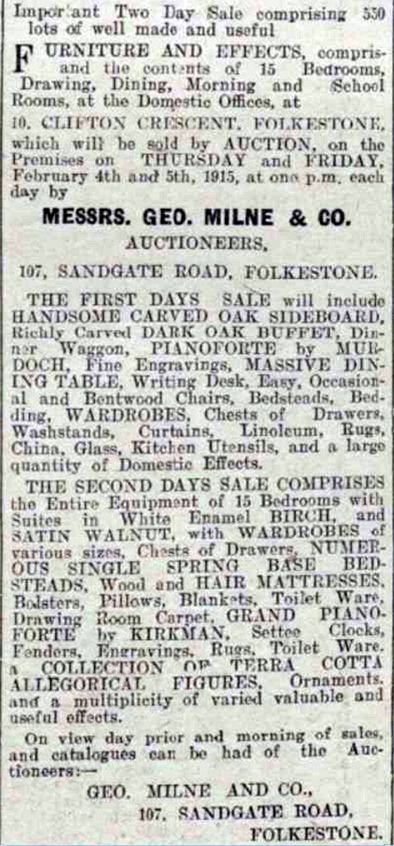 An important auction