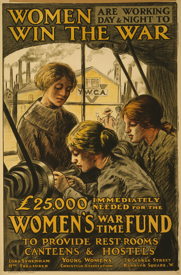 """""""Women Are Working Day & Night to Win the War"""""""