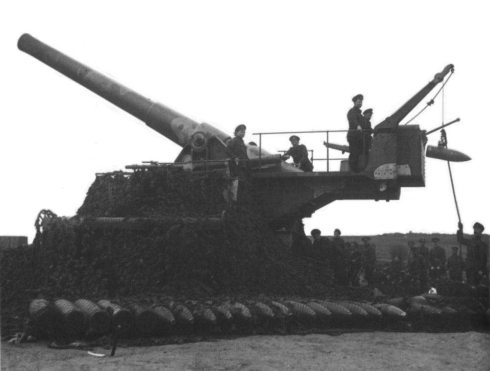 British 9.2-inch Railway Gun