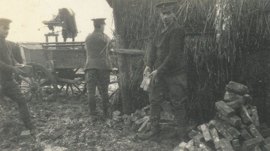 Soldiers at work