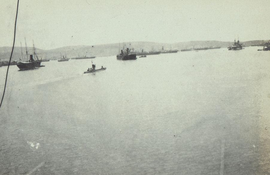 Mudros harbour