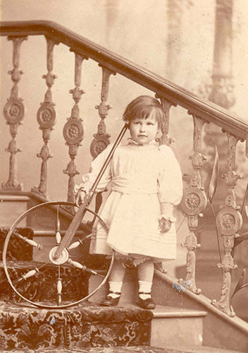 Maurice Armstrong aged two