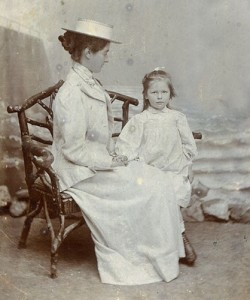 Jess Armstrong and Aunt Mary