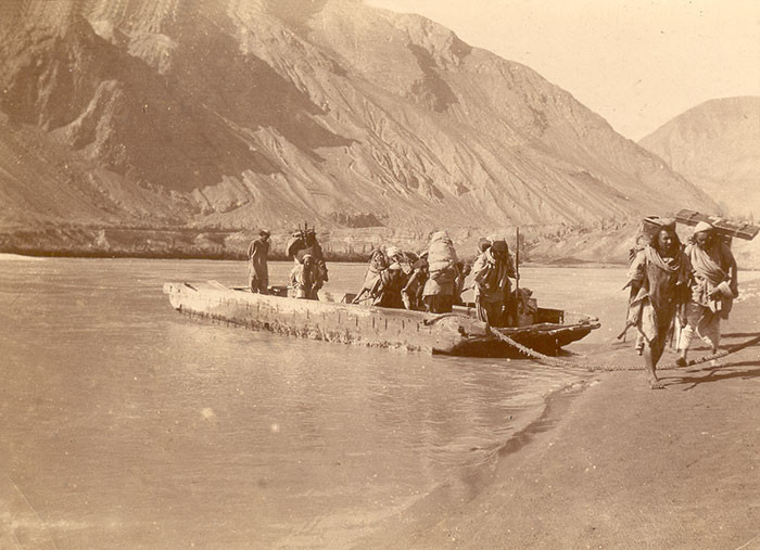 On the Indus River at Skardu, Pakistan