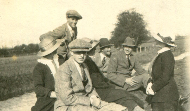 A group of friends at Folkestone