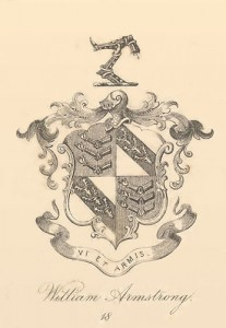 Armstrong family crest and coat of arms