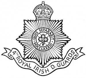4th Royal Irish Dragoon Guards Badge