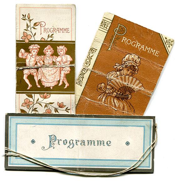 Dance cards