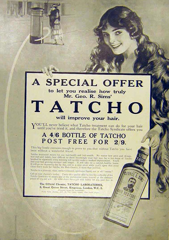 Advertisement for Tatcho