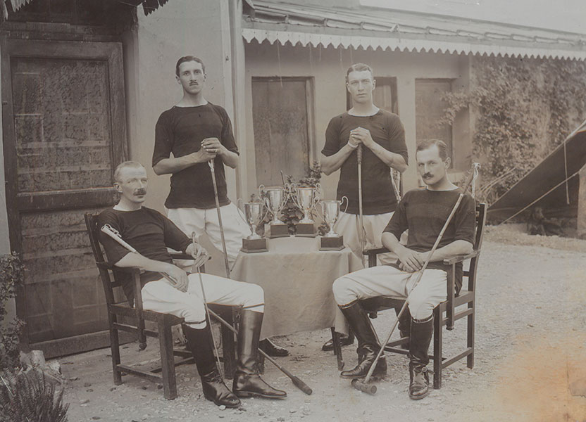 Regimental polo in India