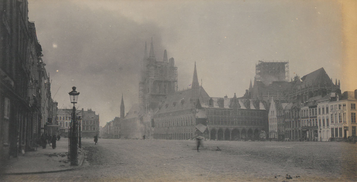 'The Cathedral & Cloth Hall are absolutely ruined'
