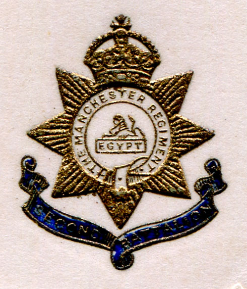 Insignia of the 2nd Battalion of the Manchester Regiment