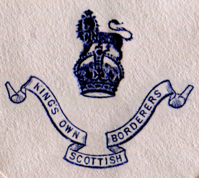 Insignia of the King's Own Scottish Borderers