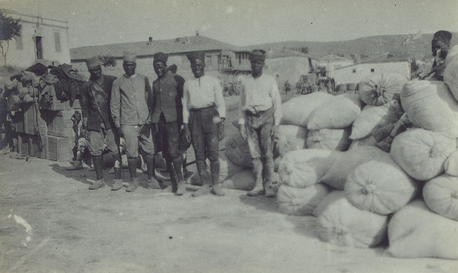 French native troops at Lemnos
