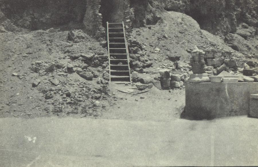 Entrance to a dugout