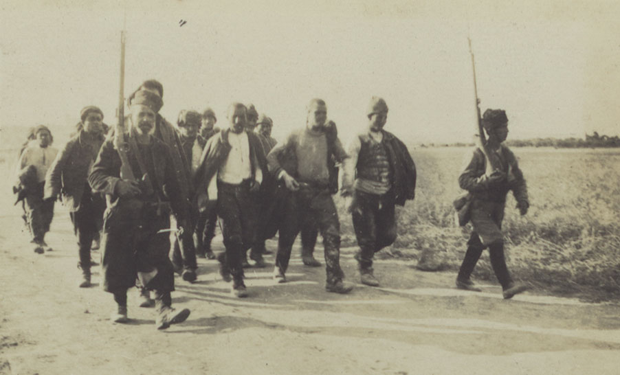 Turkish Prisoners on Lemnos