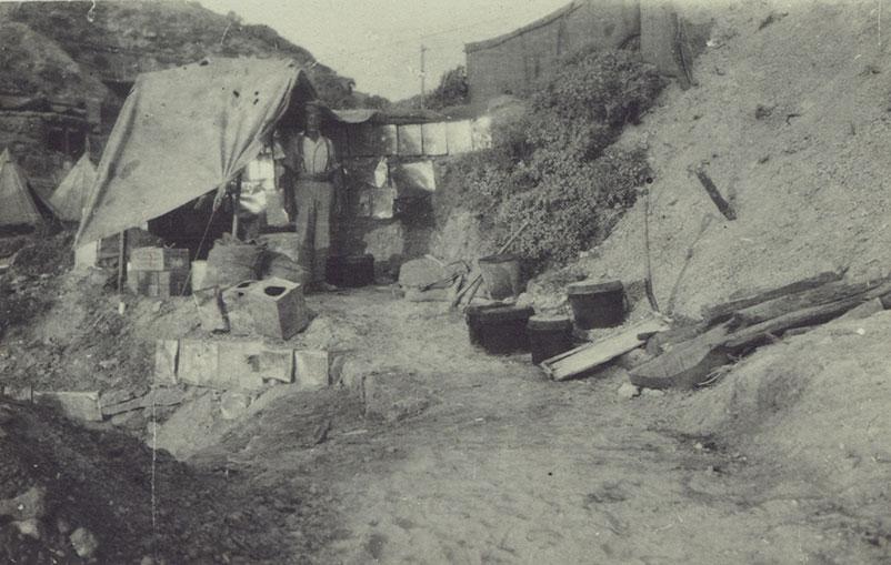 Cook's house, Gully Beach