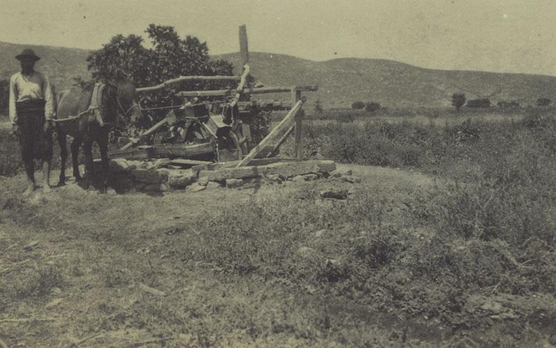 A water wheel