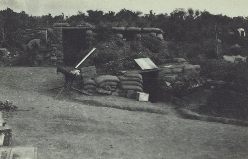 Divisional Headquarters at Suvla