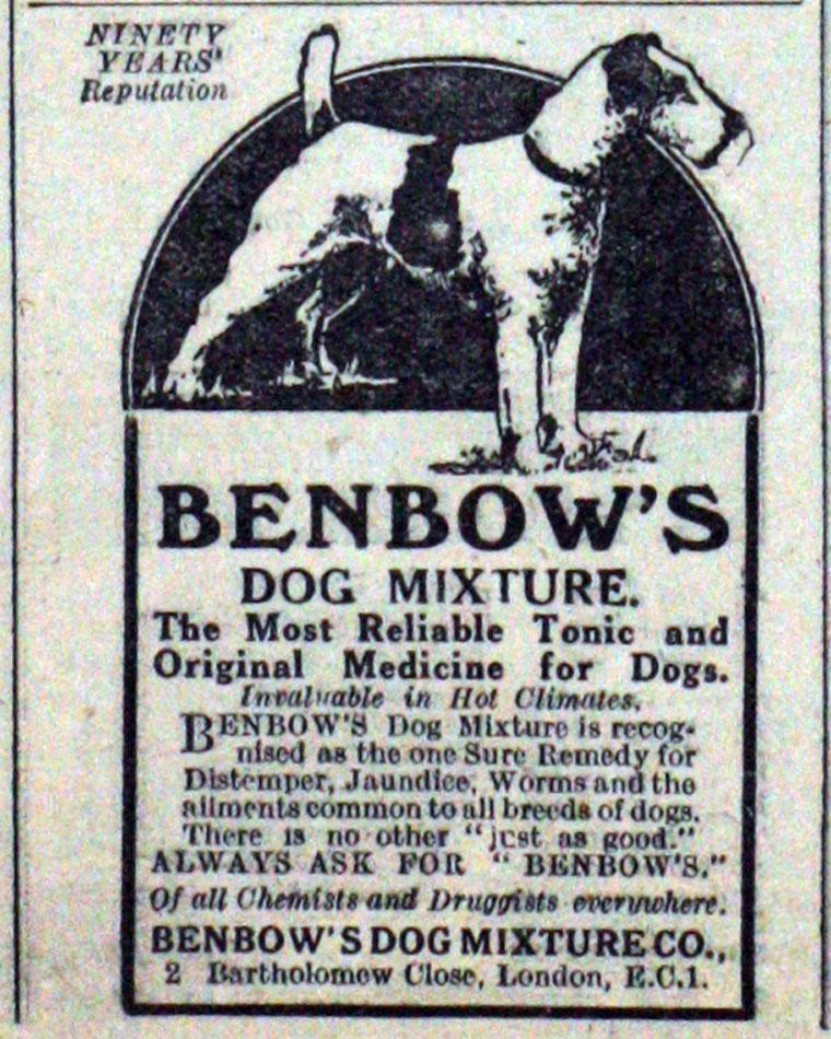 Benbow's Dog Mixture