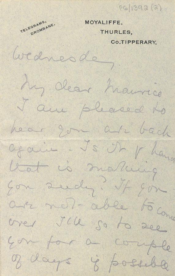 Letter from Poppy