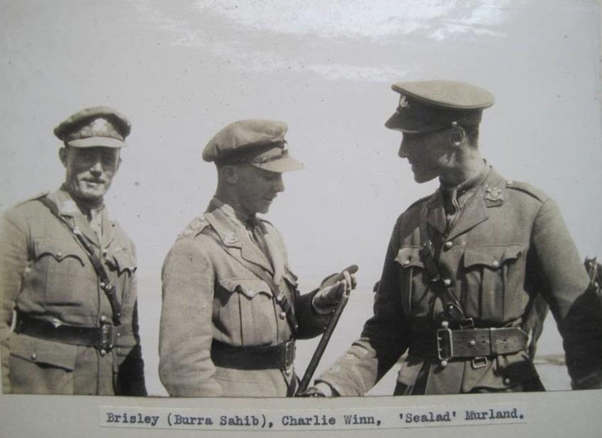Troop leaders