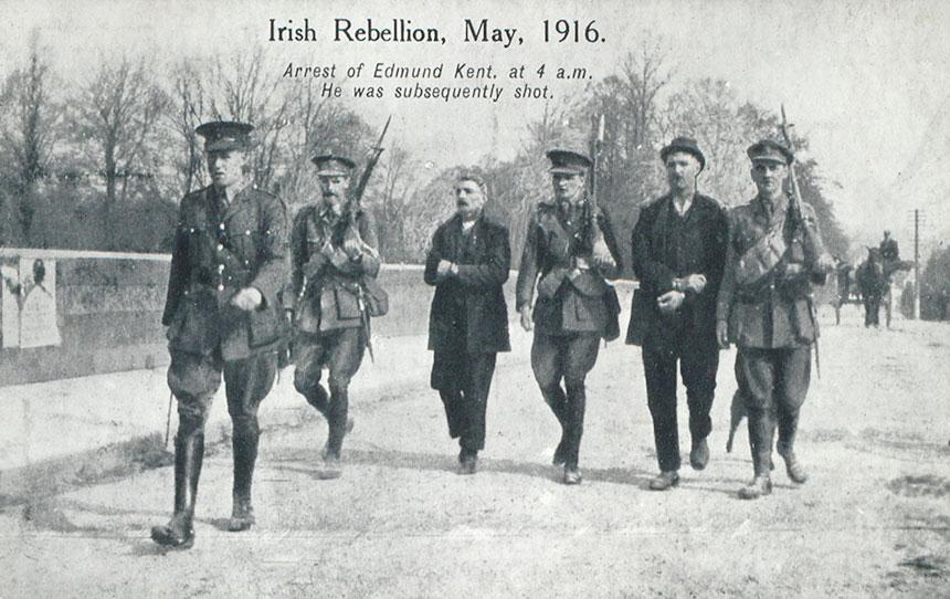 The arrest of Éamonn Ceannt