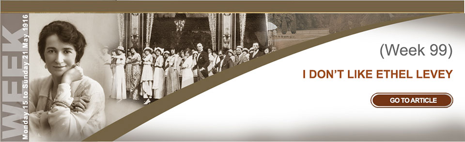 Monday 15 to Sunday 21 May 1916