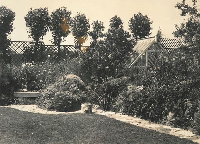 The garden at Clodagh House
