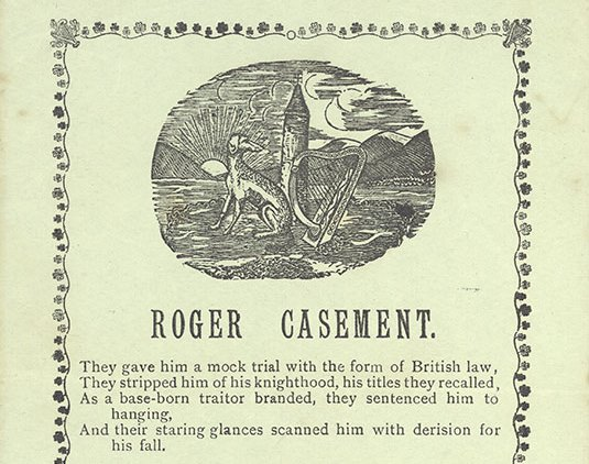 The execution of Roger Casement