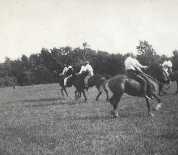 A chukker of polo