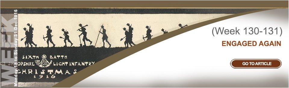 Monday 18 to Sunday 31 December 1916