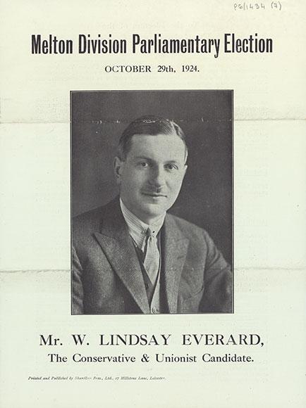 Lindsay Everard's election pamphlet